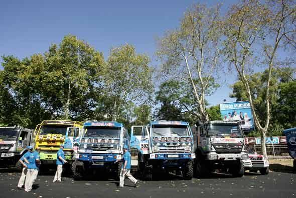 La edición 2011 del Rally Dakar será el más grande del mundo con 428 veh...