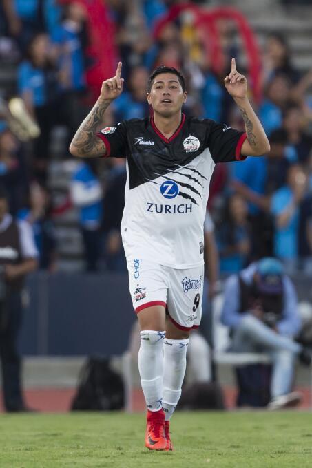 En fotos: Lobos BUAP sorprendió 2-1 al líder Monterrey  gol-diego-jimene...