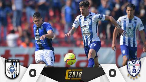 Pachuca vs. Querétaro en vivo Clausura 2018