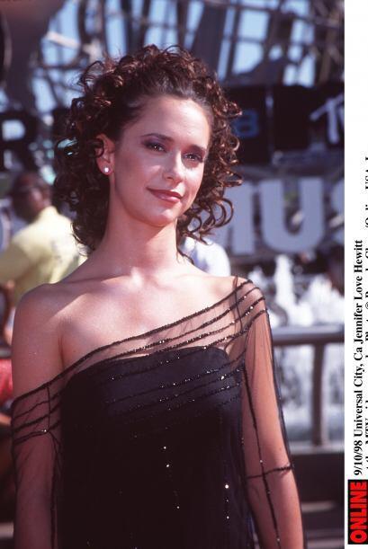 Jennifer Love Hewitt siempre se vio atraída por el mundo del espectáculo...