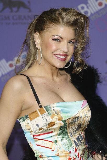 En sus comienzos Fergie lucía fresca y natural. Mira aquí lo último en c...
