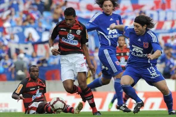 En partido del Grupo 8 jugado en Río de Janeiro jugaron Flamengo y la U...