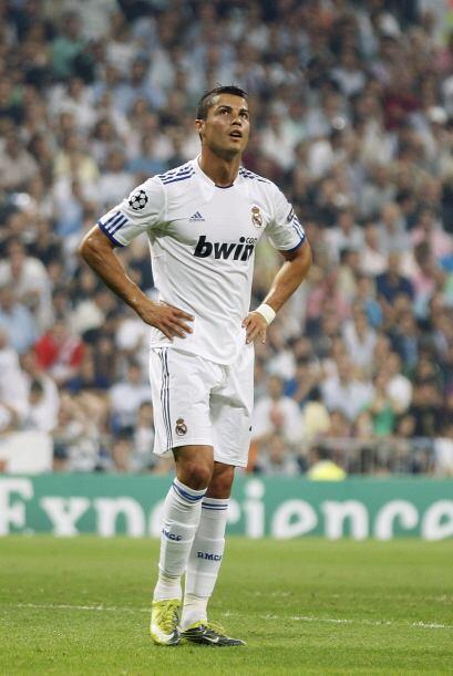 Cristiano Ronaldo parecía obsesionado con obtener su gol, el cual nunca...