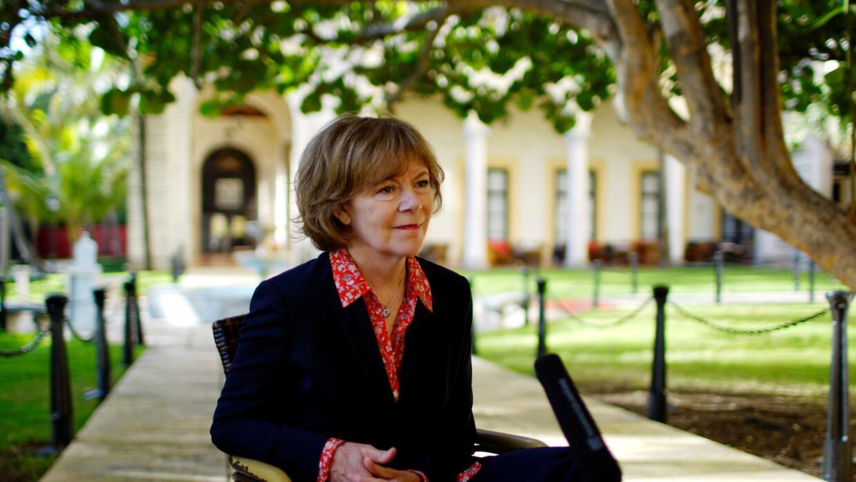 La vicegobernadora de Minnesota, Tina Smith, en una foto tomada el 22 de...