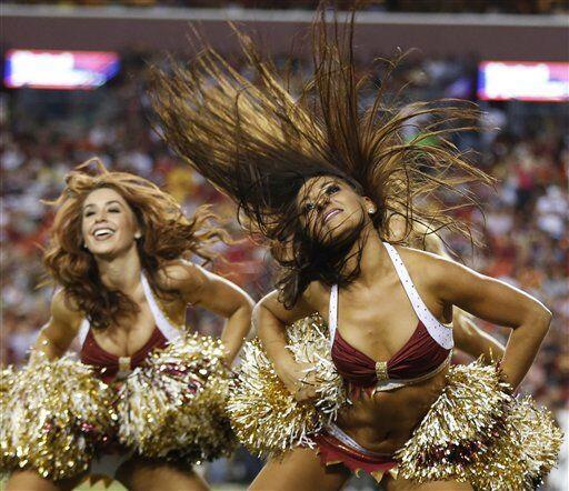 La belleza de la tribu levantó suspiros en los fans de los Redski...
