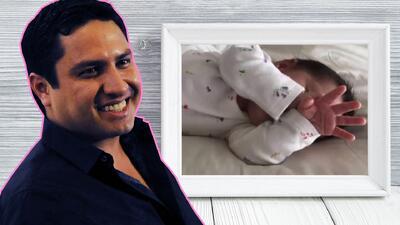 Despeinada, pero muy sonriente: Julión Álvarez presentó (al fin) a su hija María Isabel