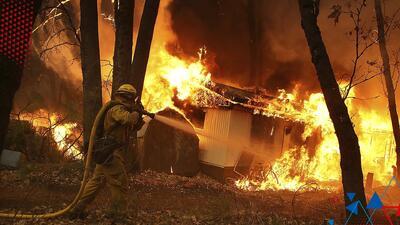Invitan a reflexionar sobre la perdida de casas por fuegos en California  sin importar el estatus social