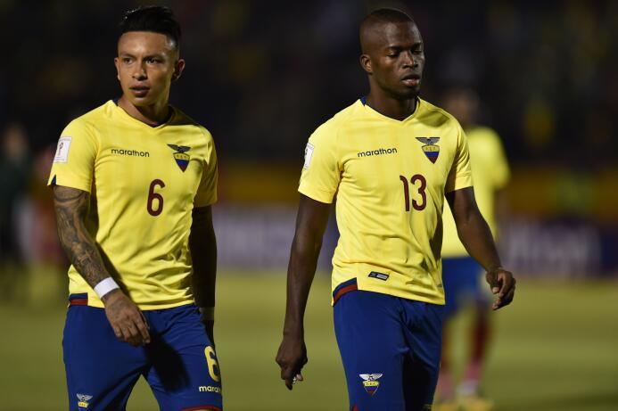 Enner Valencia (Ecuador): ausente en el juego ante Chile (derrota 2-1),...
