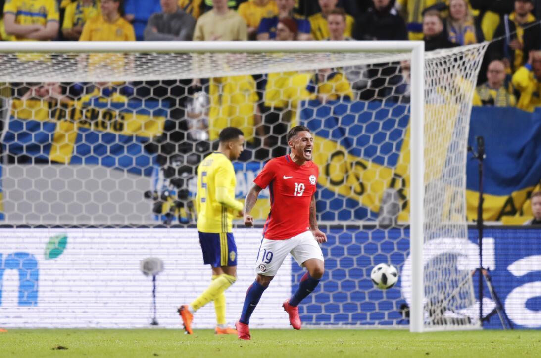 En fotos: Otro rival de México que pierde; Suecia cayó ante Chile gettyi...