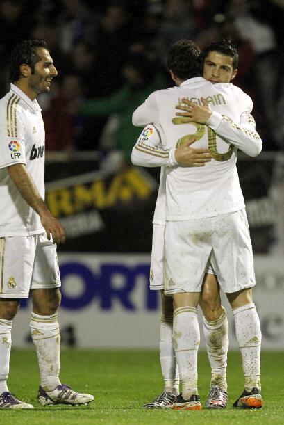 Cristiano también buscaba subir su ánimo tras la caída en el 'Derby'.