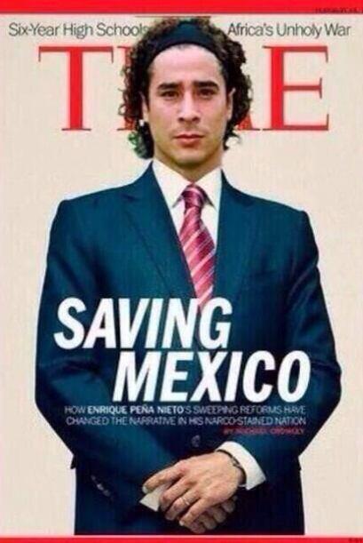 Él sí se merecía la portada de esta revista. Todo s...