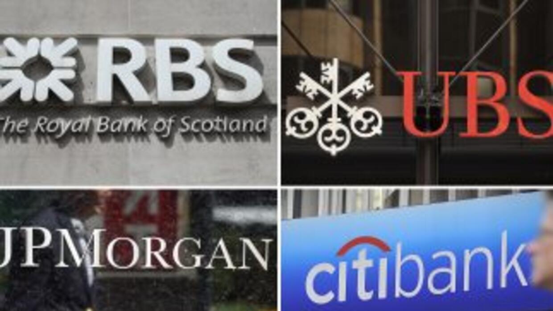 Los bancos sancionados son los británicos HSBC y RBS, los estadounidense...