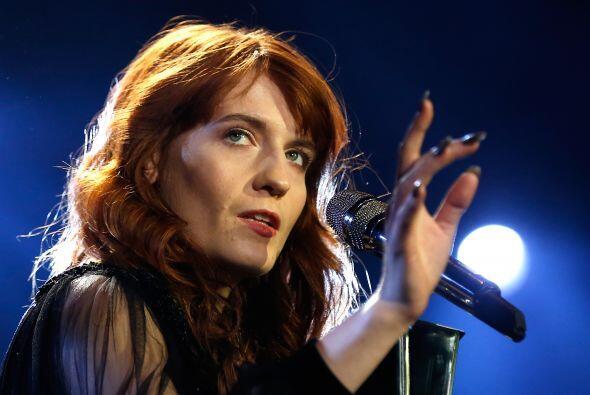 Los días malos no se han acabado para Florence Welch, porque sin llegar...