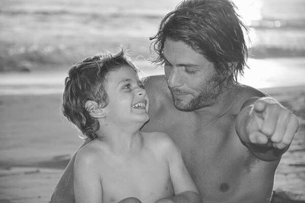 Horacio Pancheri y su hijo Benicio