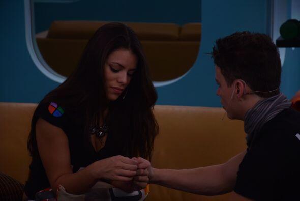 Luis buscó a Marlin para ponerlo punto final a la relación...
