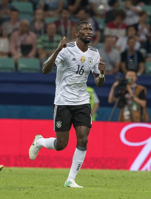 Antonio Rüdiger podría salir del A.S. Roma rumbo al Chelsea.