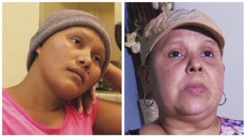 Aracely y Esmeralda, dos mujeres que se han apoyado en su lucha contra e...