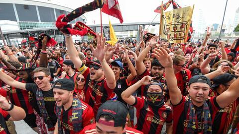 La afición de Atlanta United es sensación