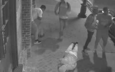 Cuatro sujetos atacaron salvajemente y por la espalda a dos turistas en...