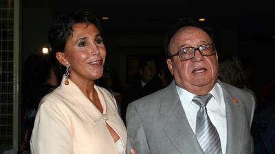 Florinda Meza prohibió visitas en la tumba de Chespirito