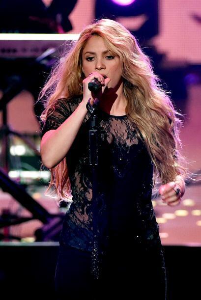 La cantante latina deslumbró a muchos con su belleza.