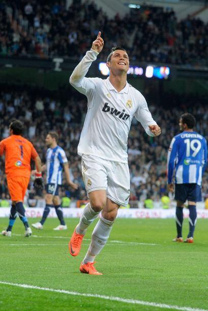 Unos pocos minutos más tarde repitió el delantero portugués.