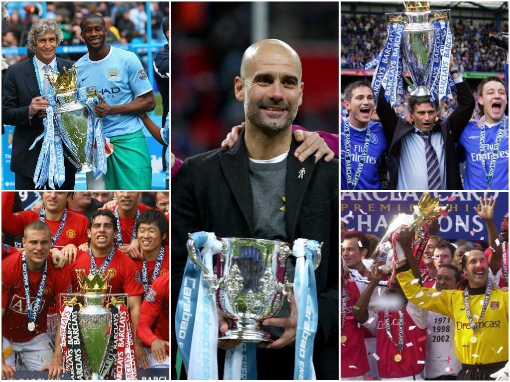 No hay duda de que el Manchester City versión 2017/2018 está paseándose...