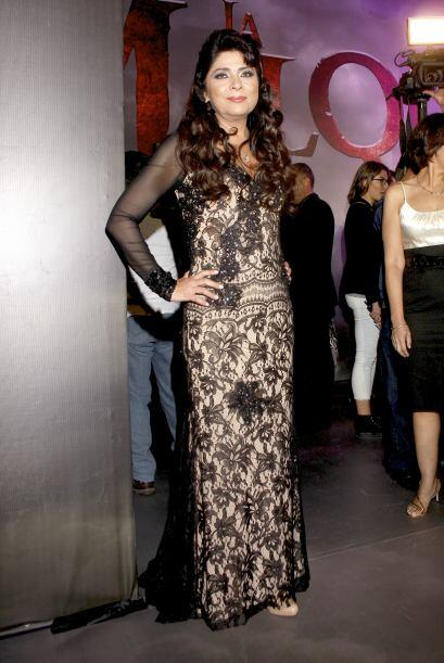 Victoria Ruffo está feliz por participar en esta telenovela producida po...