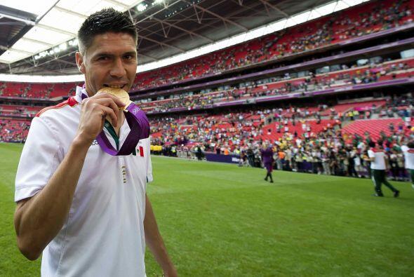 Oribe Peralta, quien fue el mejor jugador de la selección mexicana que c...