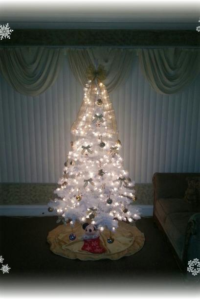 Sandra Luna nos envió una foto de su arbolito de navidad.