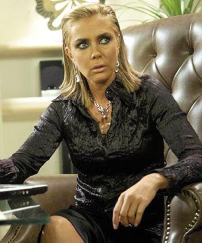 """Fue la villana """"Eva Santoro""""."""