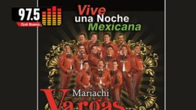 14 de febrero con el Mariachi Vargas de Tecalitlán y La Que Buena.