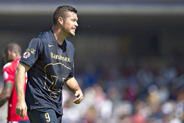 Dante López, el atacante de Pumas tuvo partidos destacados con lo...