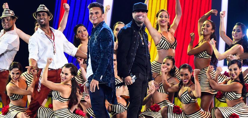 Nicky Jam y Omi cantaron 'El Perdón' y 'Cheerleader'