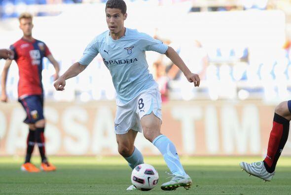 El brasileño fue el mejor hombre de la Lazio ante el Genoa.