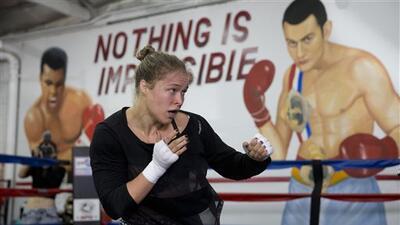 Ronda contra Mayweather.