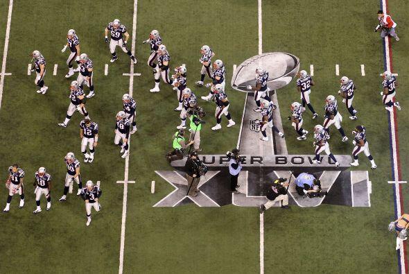 ¡Todo listo para la gran fiesta deportiva del Super Bowl XLVI!