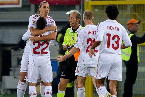 Milan ganó, gustó y sigue demostrando que es un equipo que liquida con p...