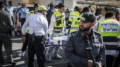 Ataque terrorista en una sinagoga en Jerusalén