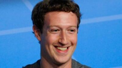 El fundador de la red social Facebook, Mark Zuckerberg.