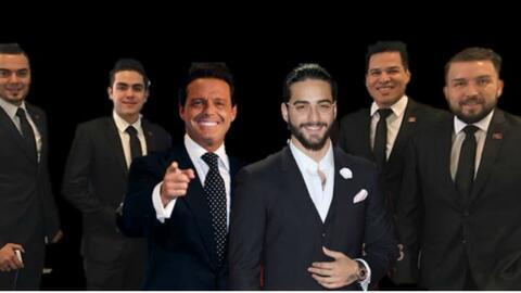 Luis Miguel y Maluma en la mira de El Recodo para su disco aniversario