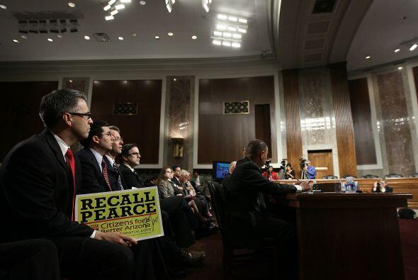 Ante el Comité Judicial de la Cámara alta, críticos de la medida, como e...