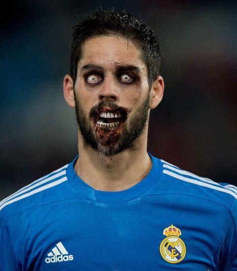 Isco, volante español que brilla con el Real Madrid.