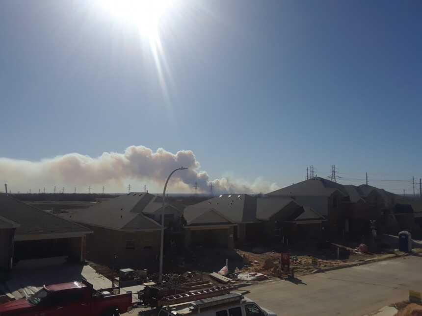 El usuario José Loredo mandó esta foto de Saginaw, Texas.