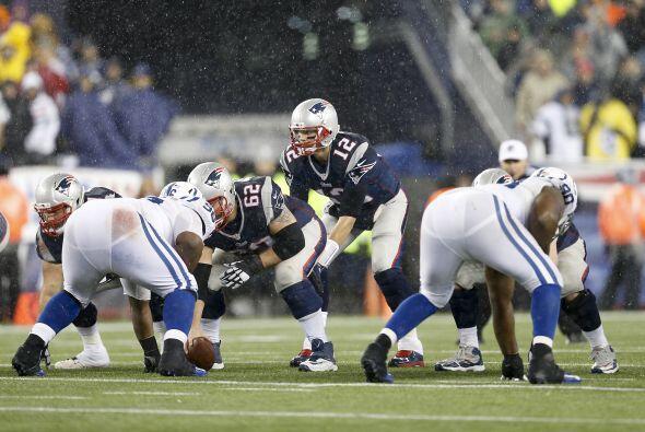 Después que los Patriots vencieran 45-7 a los Indianapolis Colts en la F...