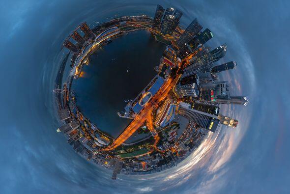 Así luce el segundo edificio más caro del mundo, Marina Bay en Singapur,