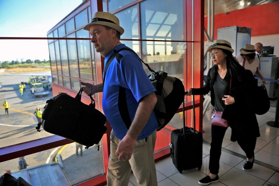 Es el primer vuelo de American Airlines desde la ciudad de Florida que l...