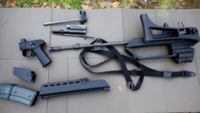 La ley federal no considera a las piezas como un arma, por lo que pueden...
