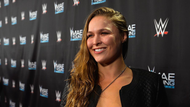 Ronda Rousey y Undertaker: íconos del Wrestlemania de WWE en 2018 gettyi...
