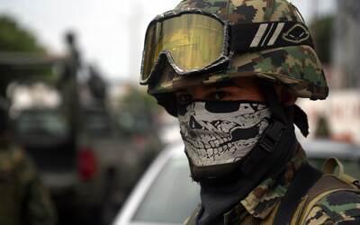 La muerte es el rostro del narco en México.